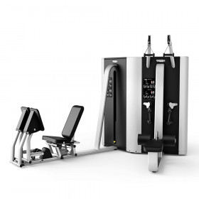 PLURIMA MULTISTATION - TWIN WITH LEG PRESS