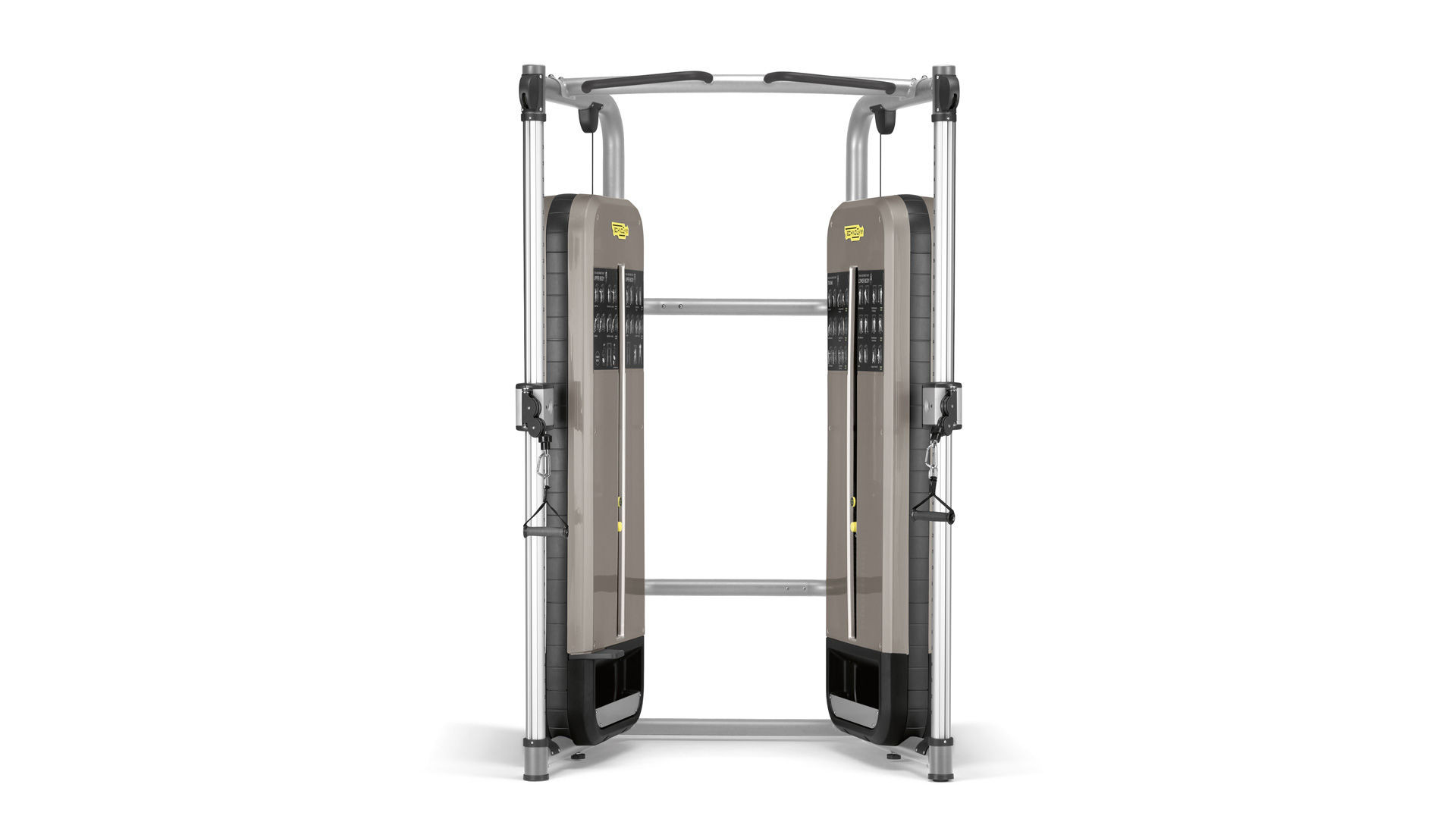 Dual Adjustable Pulley Cable Stations Technogym