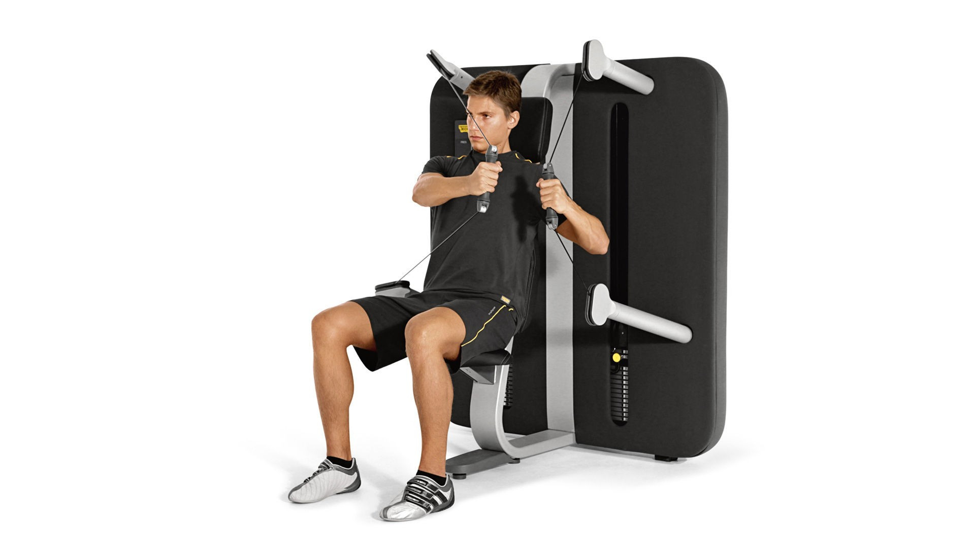 Kinesis seater chest press machine technogym