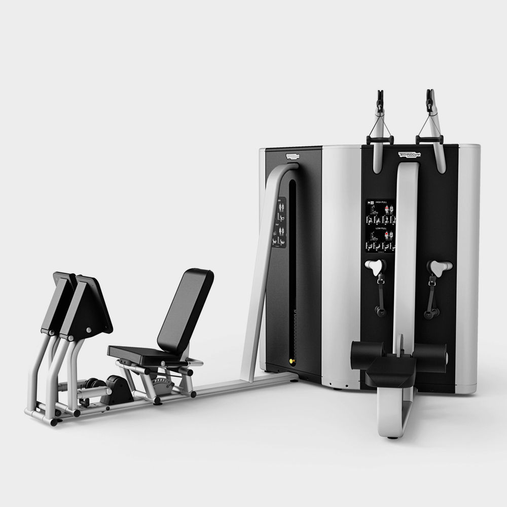 PLURIMA MULTISTATION - HIGH/LOW PULL/LEG PRESS