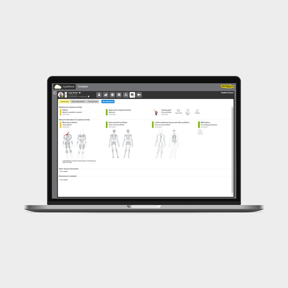 PROFILE - App Professionale Technogym