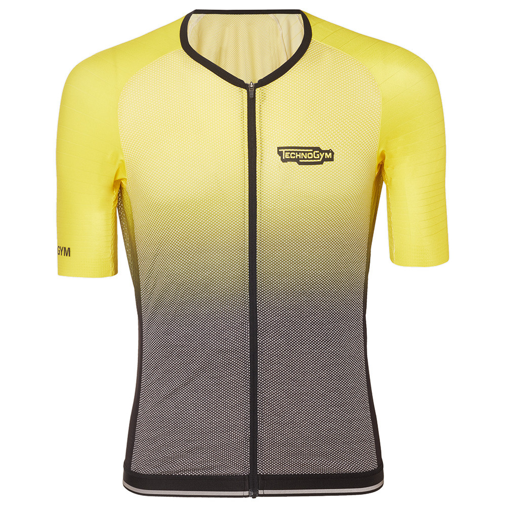 Men's Indoor Cycling Jersey Yellow