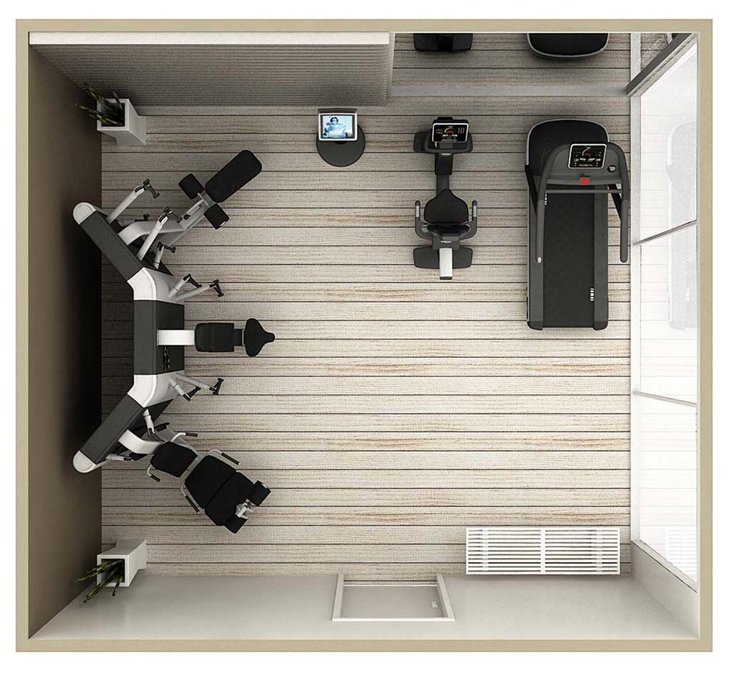 Gym equipment for offices with lots of space technogym - Best cardio equipment for small spaces property ...