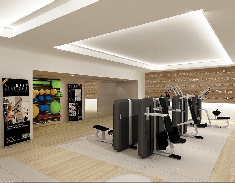Interior Layout Pictures Fitness 14