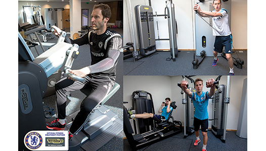 Technogym selected as Chelsea FC's Official Fitness Equipment Partner