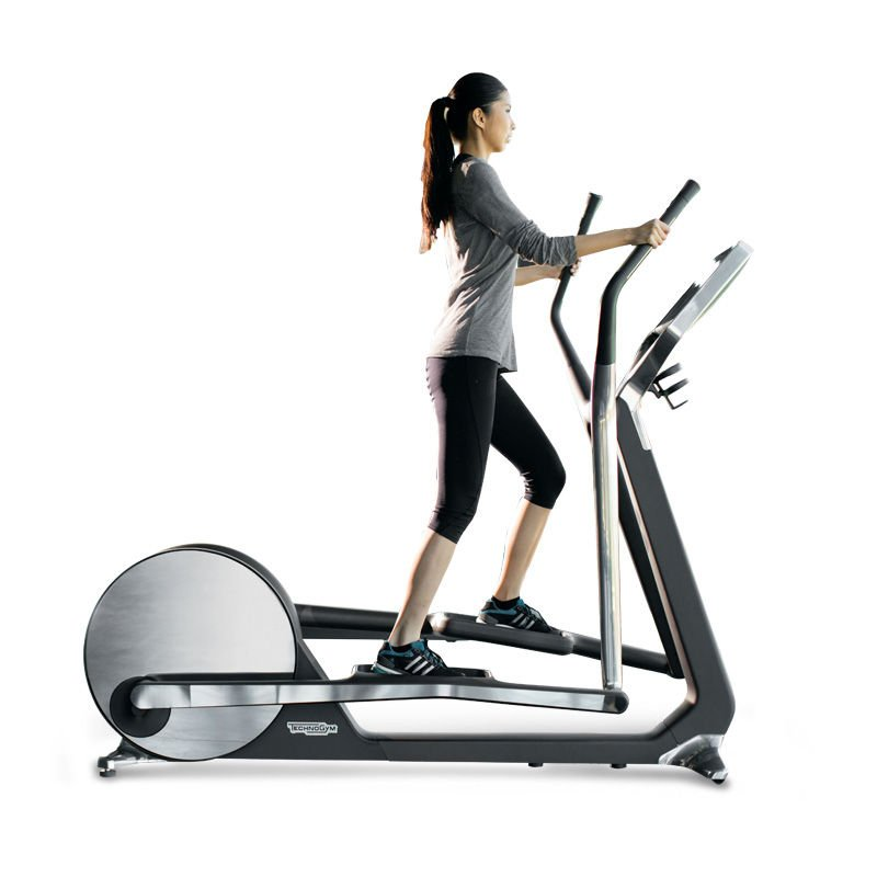 cross personal elliptical machine with unity technogym. Black Bedroom Furniture Sets. Home Design Ideas