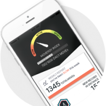 The Technogym App measures your MOVERGY - your personal daily movement index.