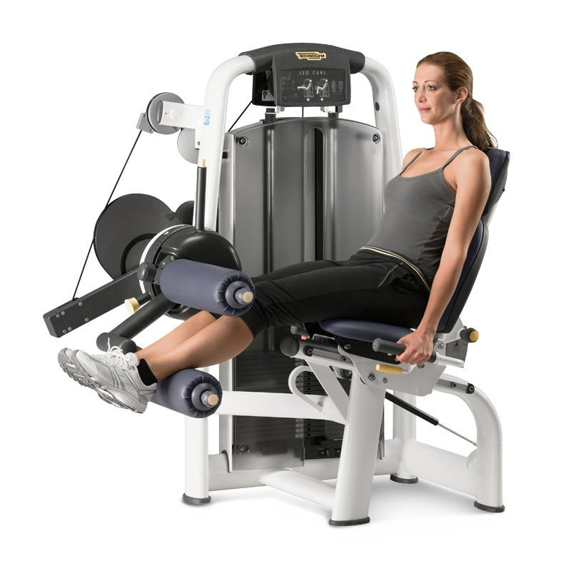 Gym Equipment Legs: Selection MED Seated Leg Curl Machine