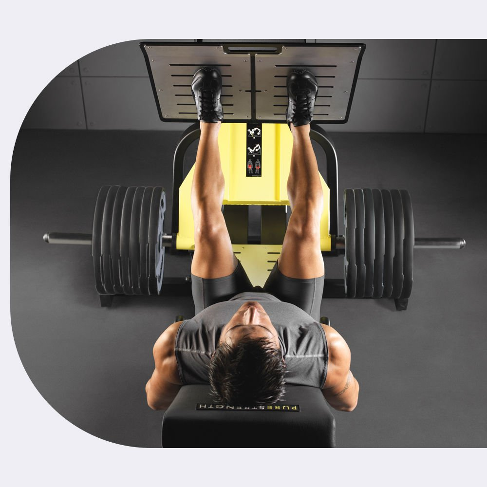PURE STRENGTH - LEG PRESS - MG5000 - Main feature 2 - it