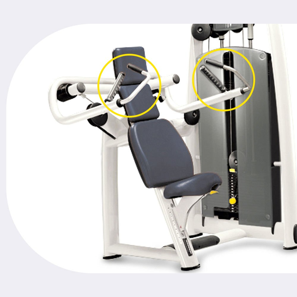 SELECTION – SHOULDER PRESS MED - C969 - Main feature 2