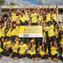 Technogym to donate 650,000 meals to malnourished children