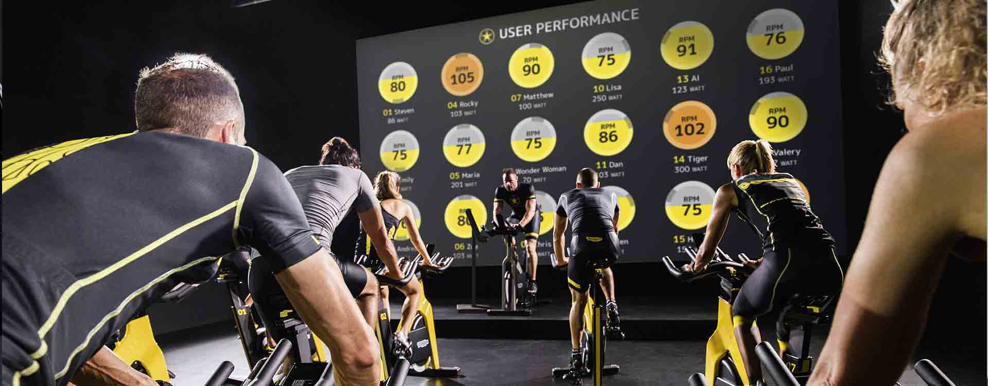 Indoor Group Cycling - A premium workout Experience