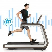 TECHNOGYM PREVIEWS FIRST MUSIC INTERACTIVE TREADMILL