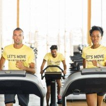 Let's Move for a Better World: over 100,000 people committed to donating physical exercise
