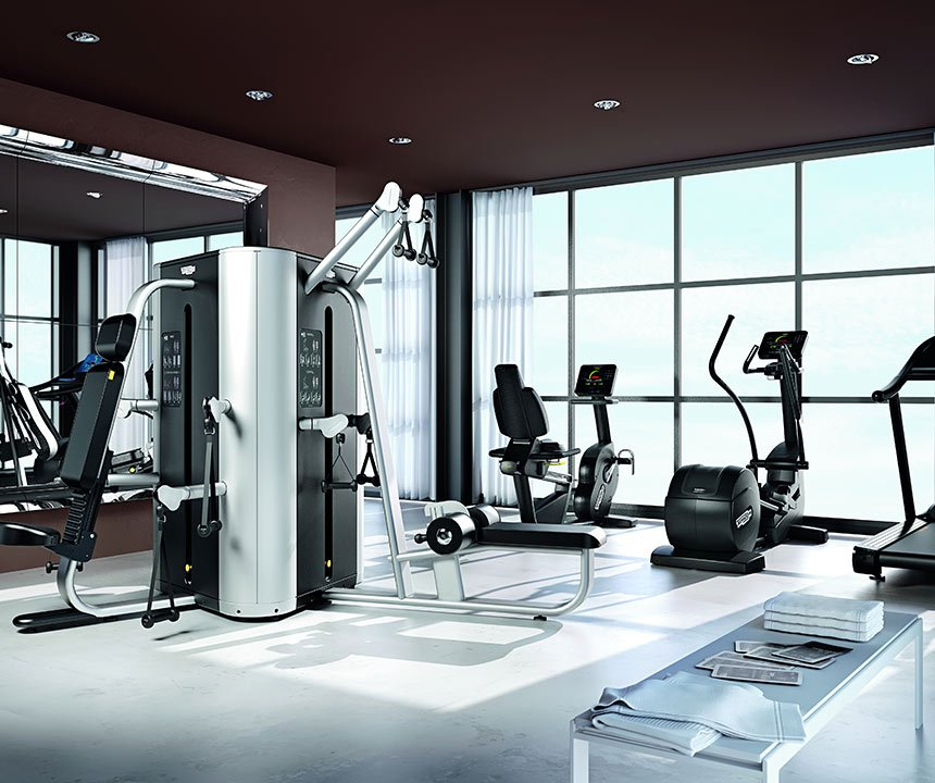 Create your own gym in 30 sq m