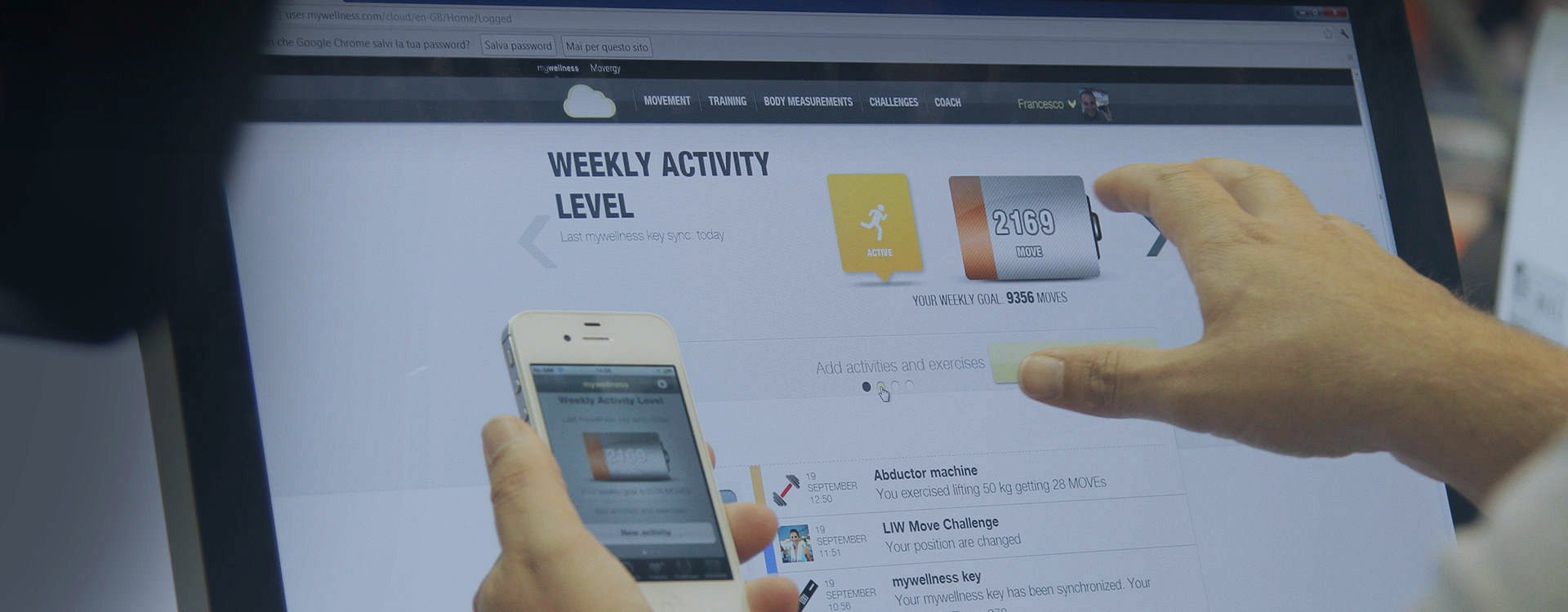 Technogym Announces HIPAA-Certified Version of Mywellness Cloud