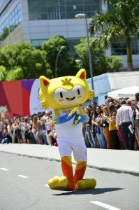The mascotte Vinicius of Olympics In Rio of 2016