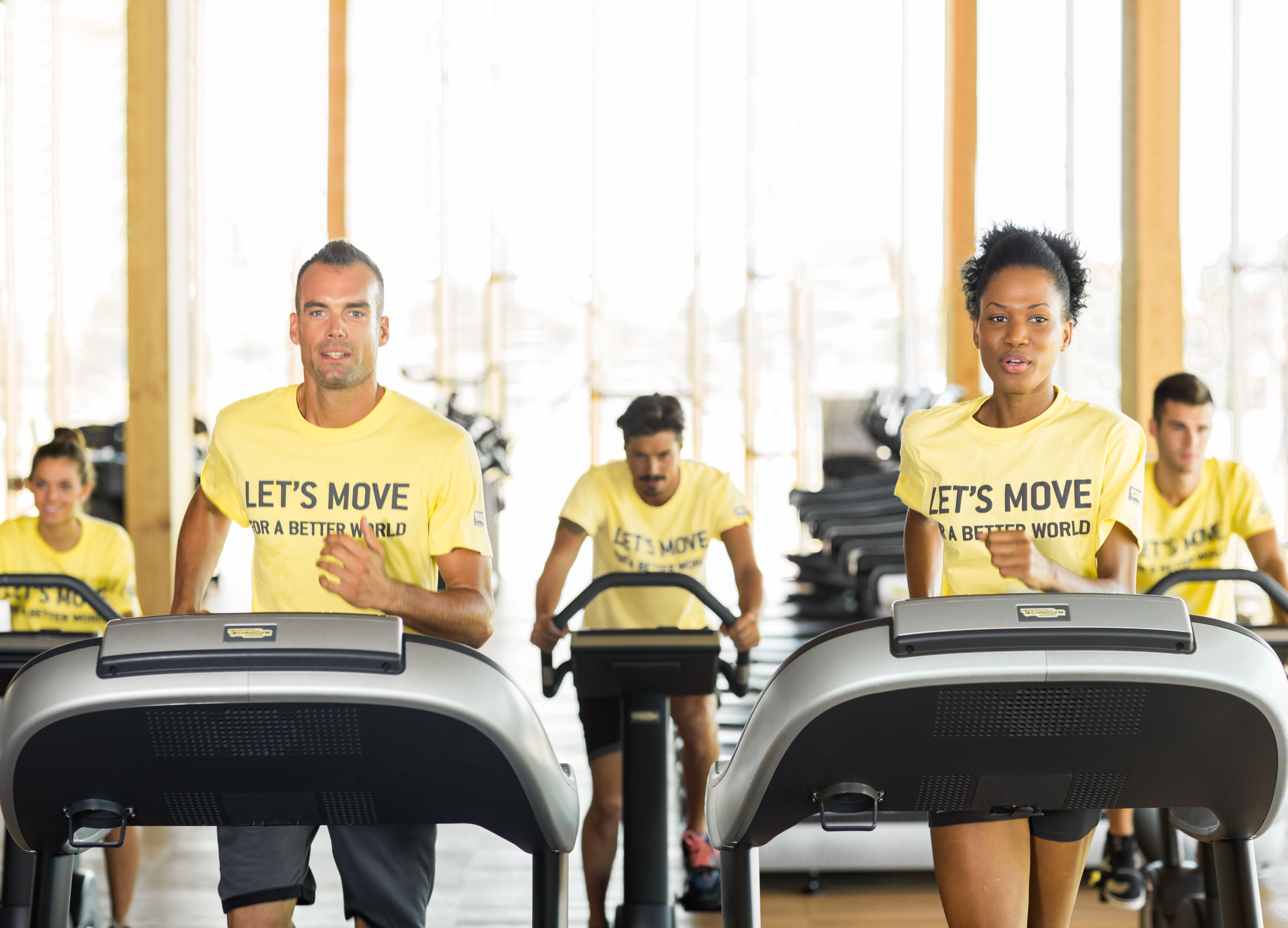 Let's Move for a Better World: go to the gym and make a difference!