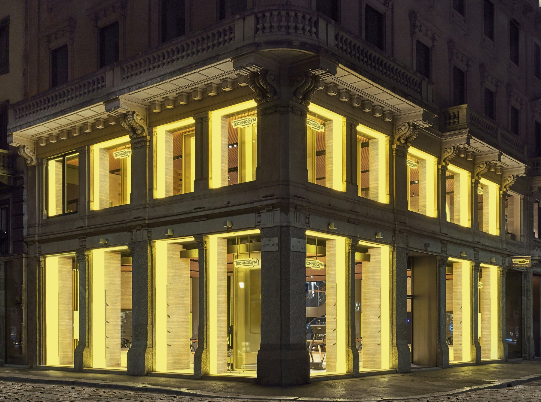 First TECHNOGYM Flagship space opens in Milan