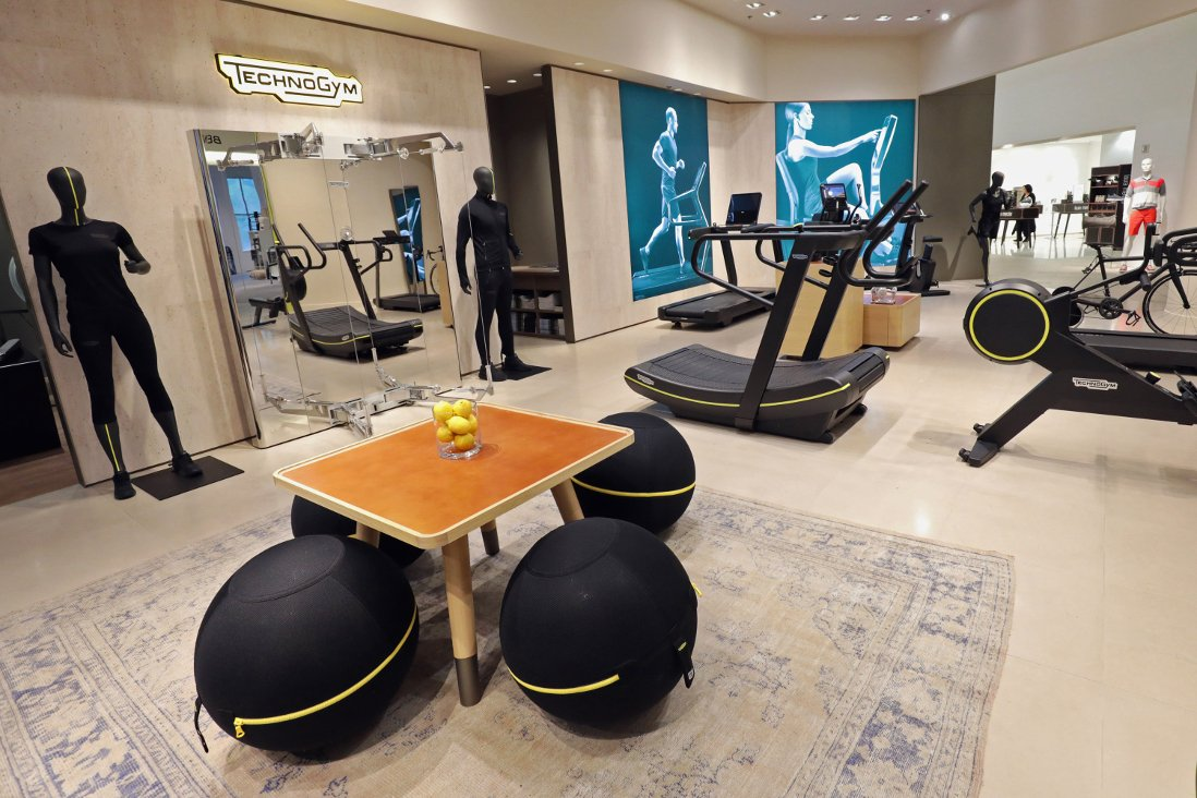 TECHNOGYM PARTNERS WITH SAKS FIFTH AVENUE IN NEW YORK  TO OPEN HOME WELLNESS STORE