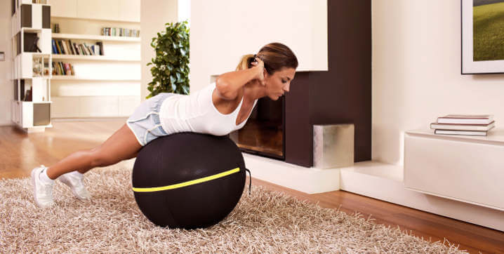 allenare il core con Active Sitting