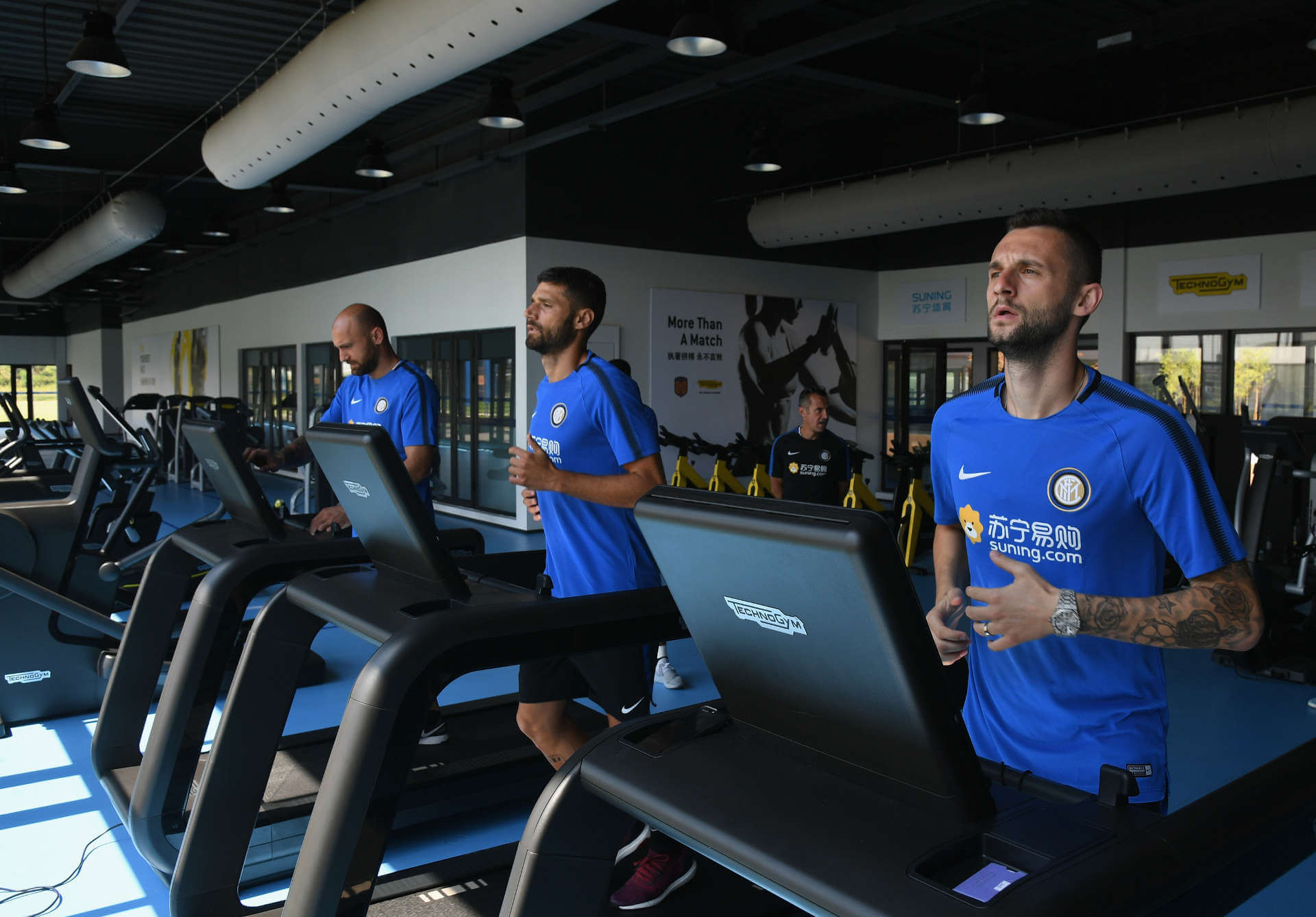 TECHNOGYM and INTER FC: 20 years of partnership from Italy to Nanjing