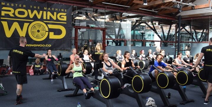 lululemon and vogatore Skillrow technogym