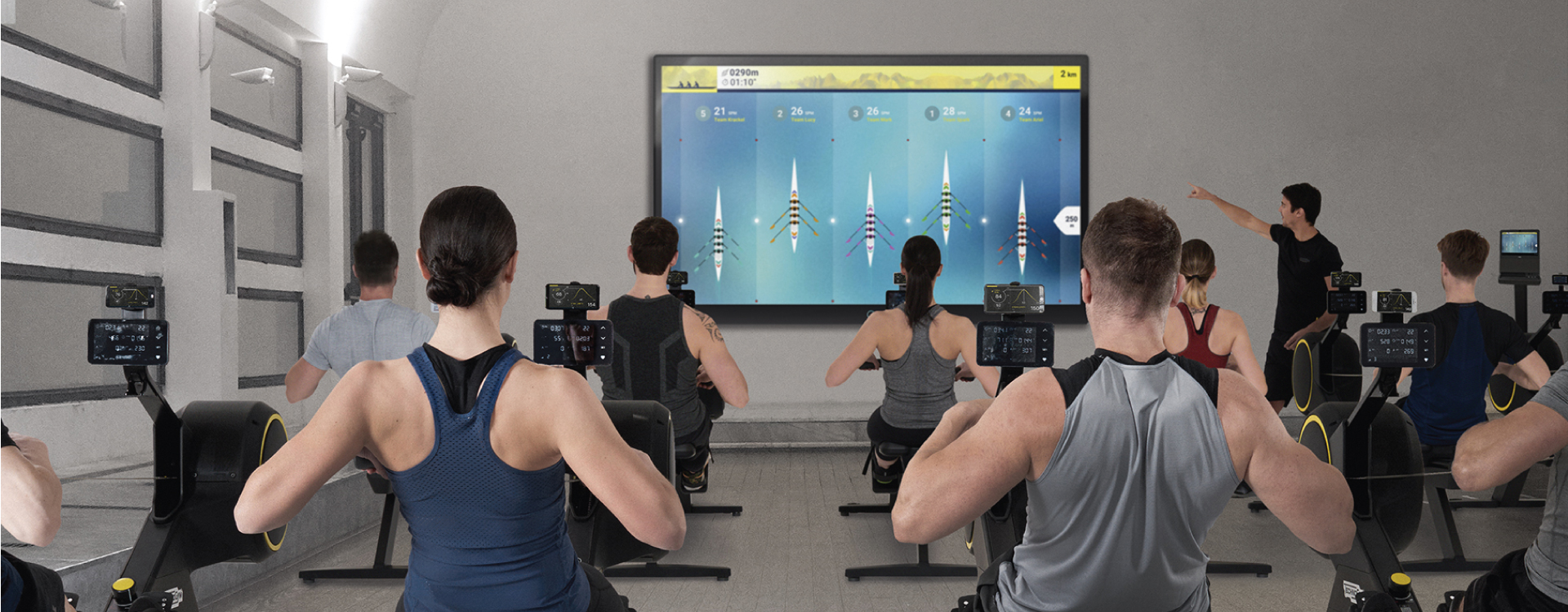 technogym skillrow the rowing machine for athletic training. Black Bedroom Furniture Sets. Home Design Ideas