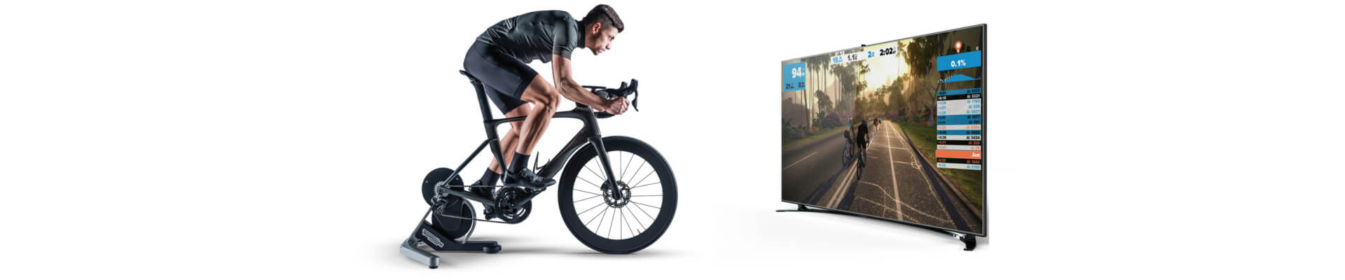 Discover Technogym's Zwift compatible trainer app for cyclists