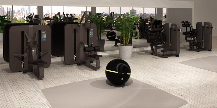 ARTIS strength machines in a gym