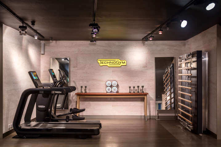 Technogym new space at Harrods