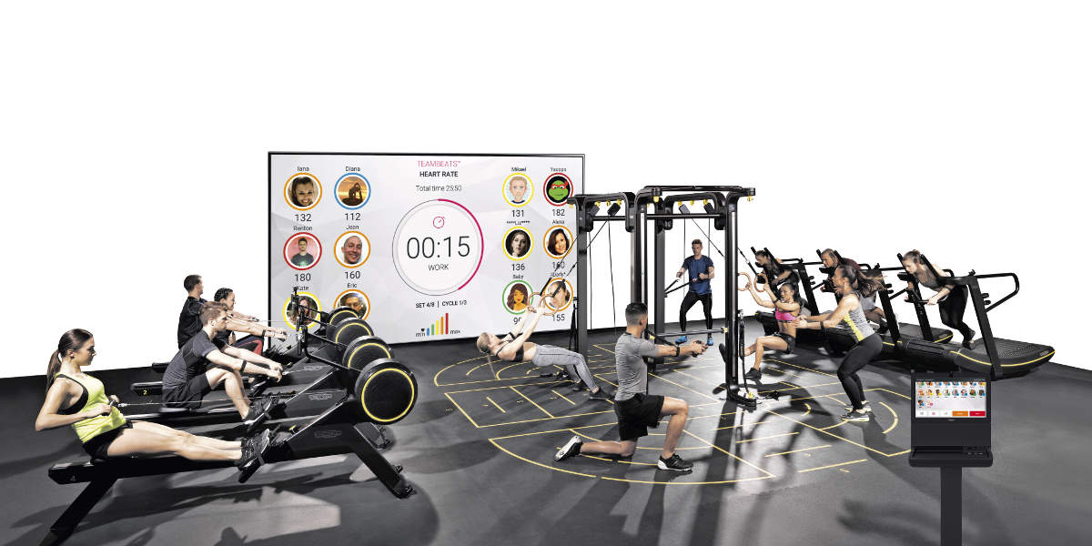 Masterclass Teambeats Technogym