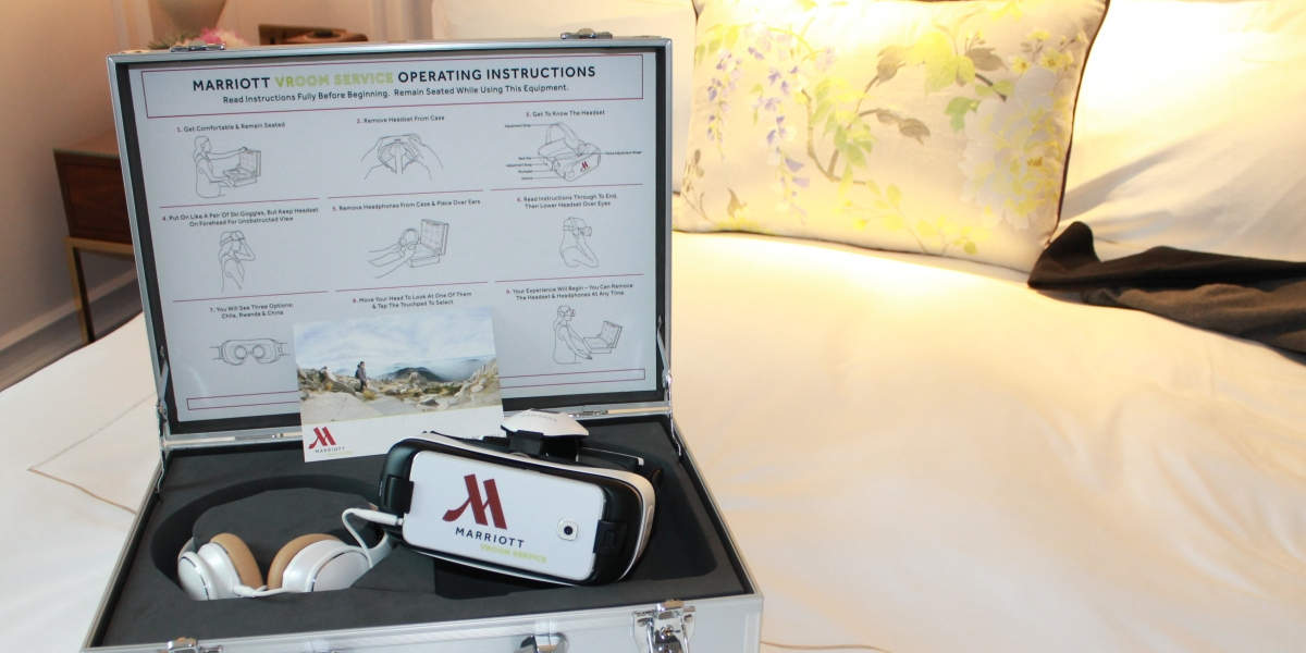 virutal reality Marriot Service Kit
