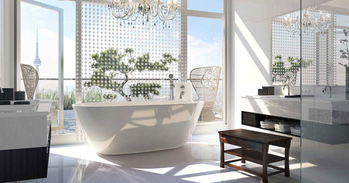 Bath With A View The New Trend In Luxury Hotels