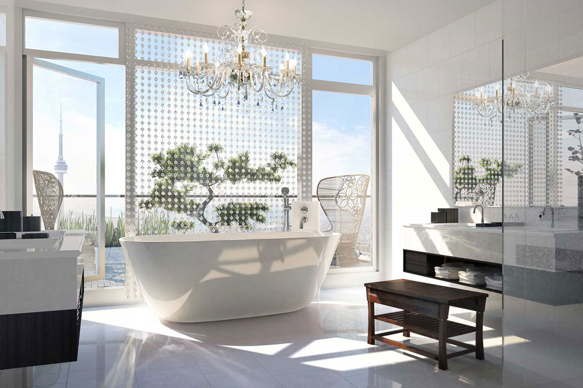 Bath with a view: the new trend in luxury hotels