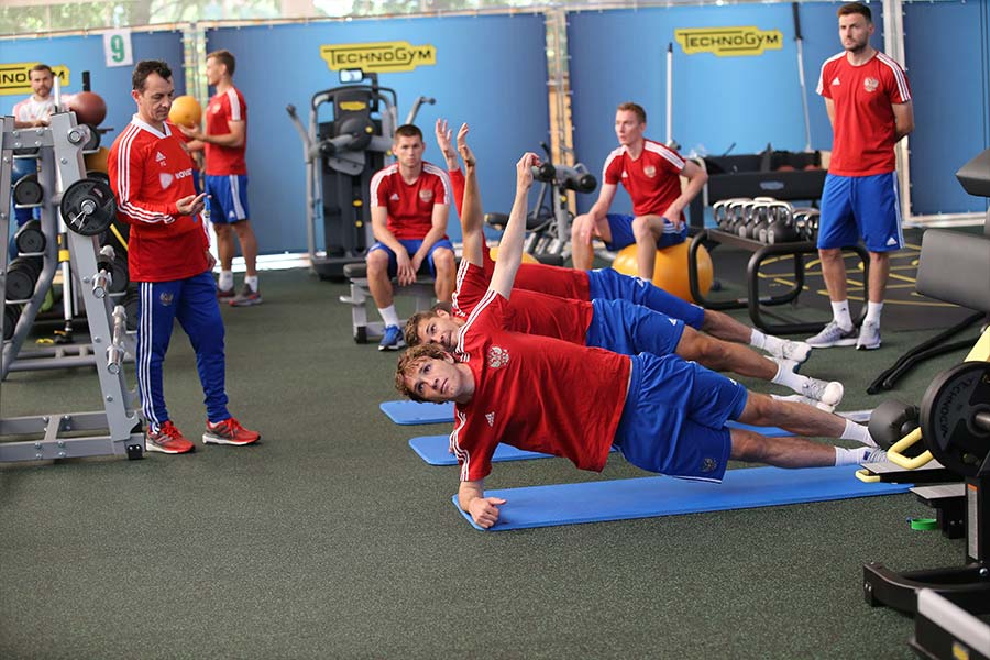 russia world cup 2018 technogym