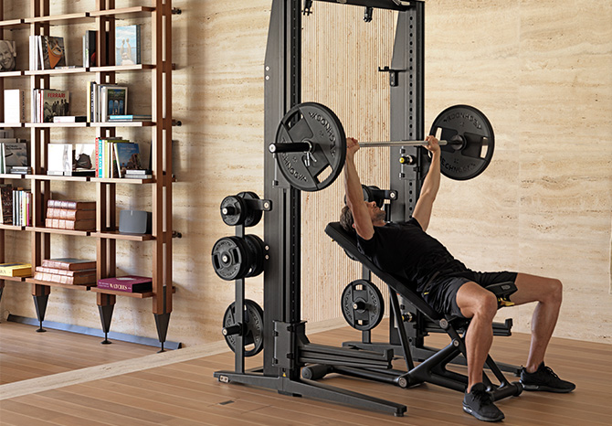 Strength training in your home gym