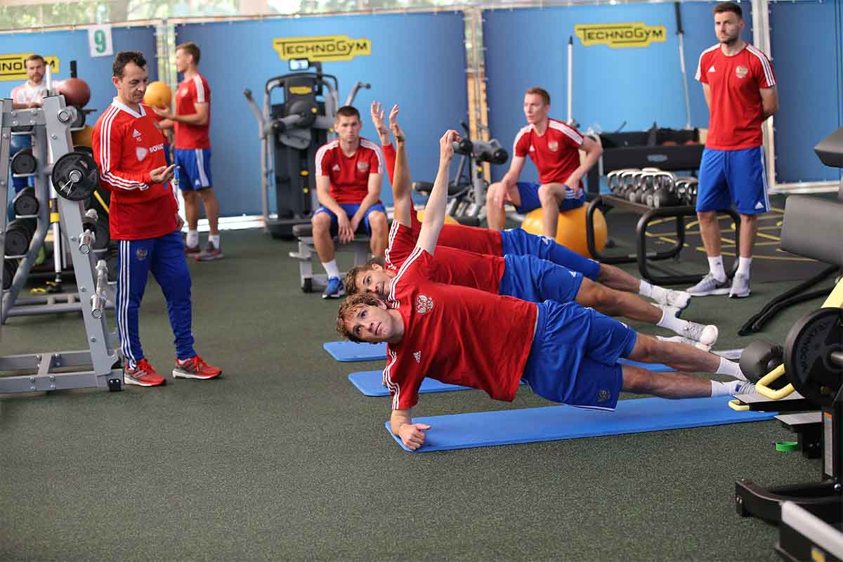 russia brasil world cup training img1