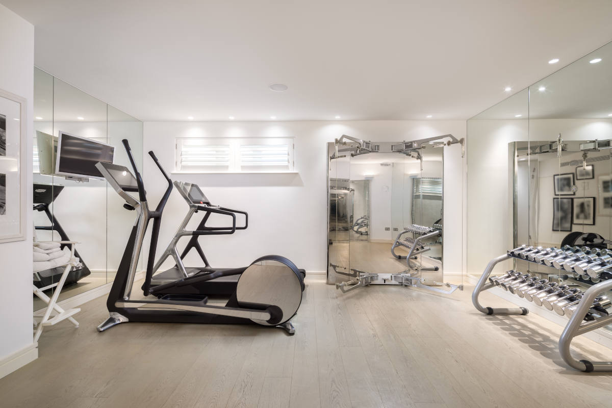 How to create a home gym according to kelly hoppen