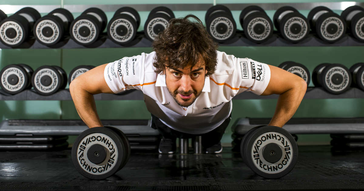 What is the training of a Formula One driver?