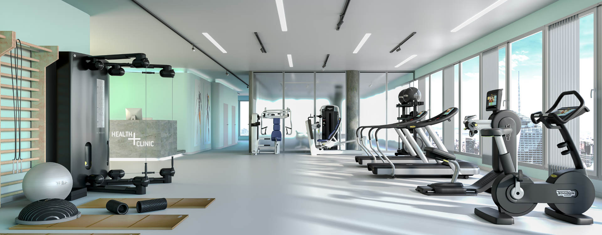 Technogym Interior Design For Medical Centers