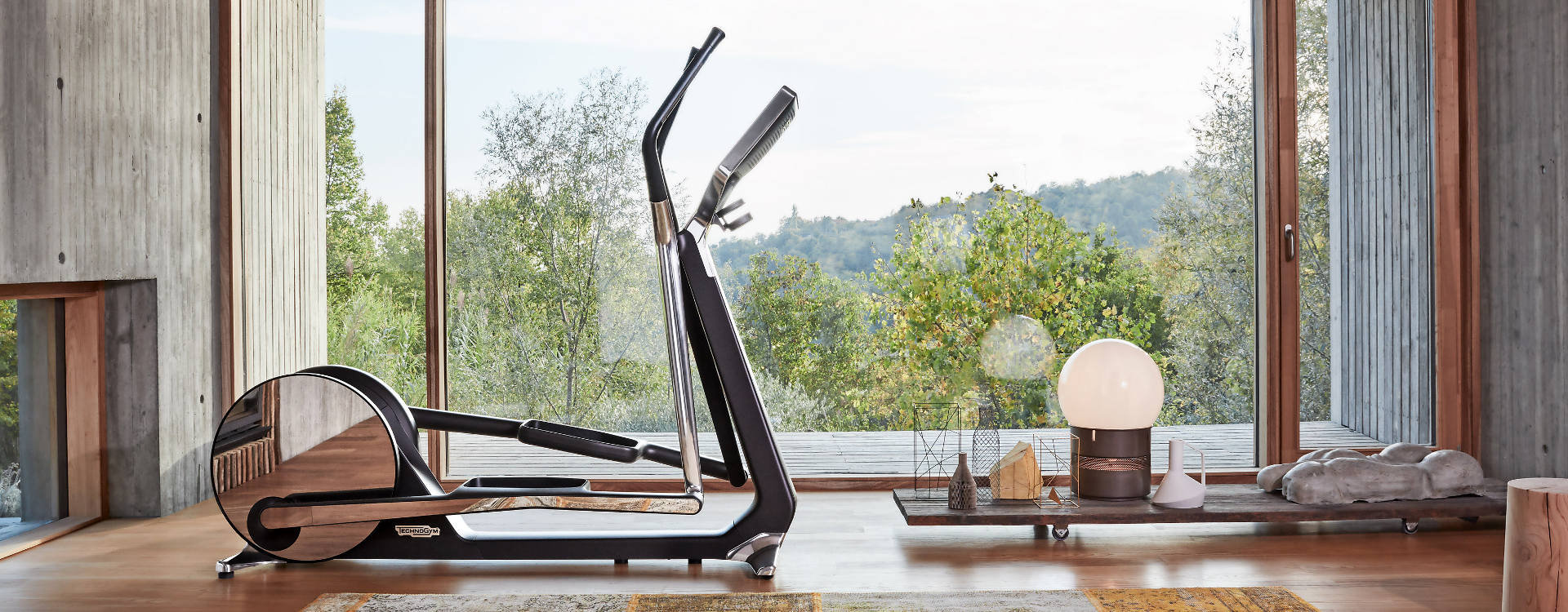 Technogym Interior Design helps you design your own gym at home or