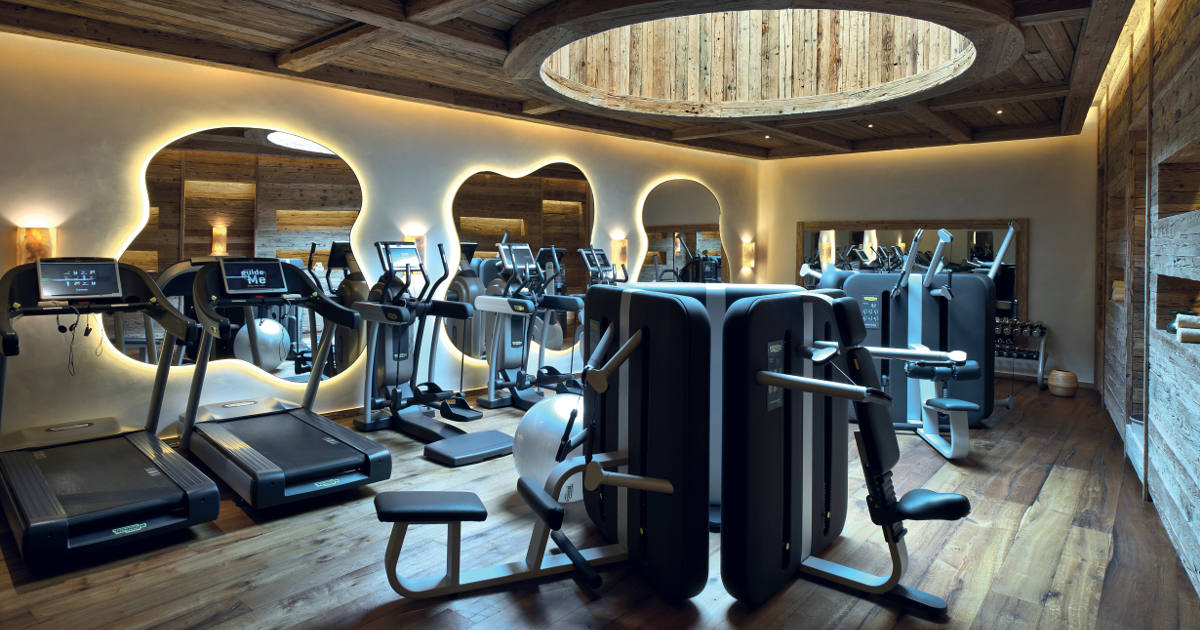 Technogym Interior Design helps you design your own gym at home, in