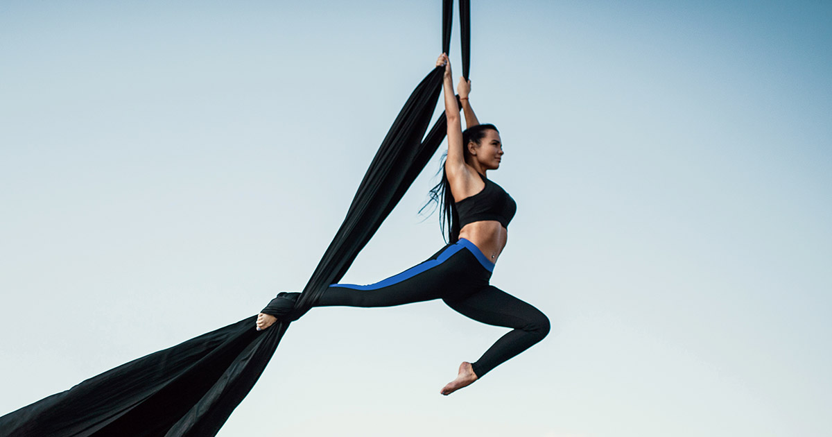 What are Aerial Silks and what training should you follow to improve in  this sport?