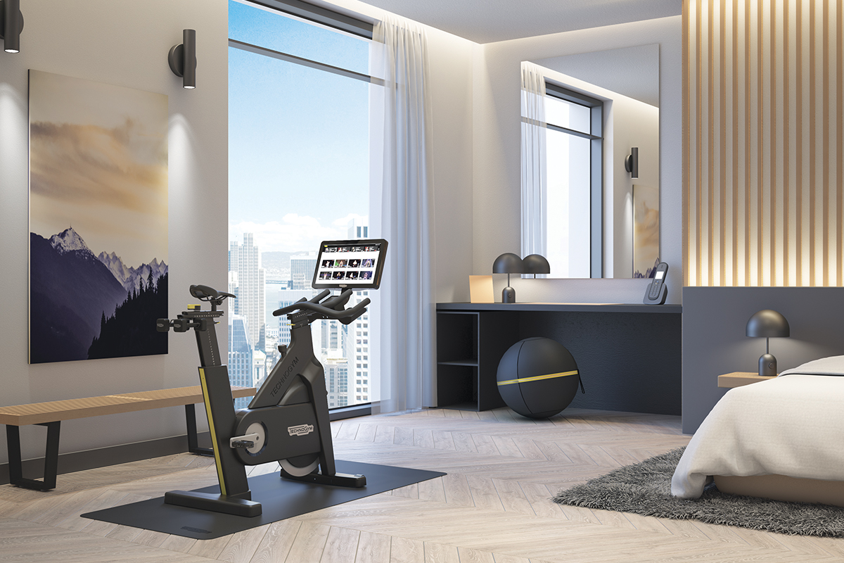 Technogym-Bike-for-Hotels