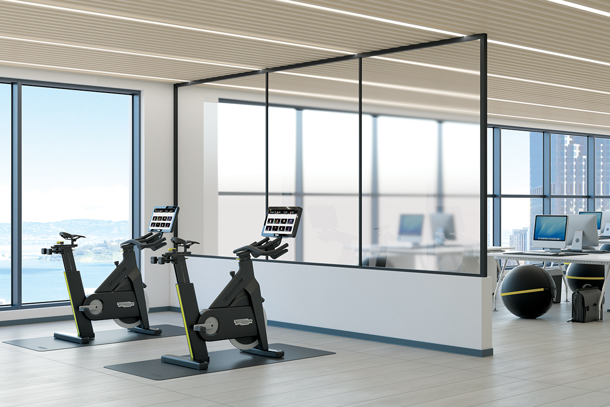 Technogym-Bike-for-offices