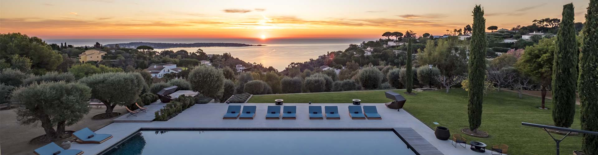 Wellness homes: Domaine de l'Ansa, surrounded by the greenery of the French Riviera