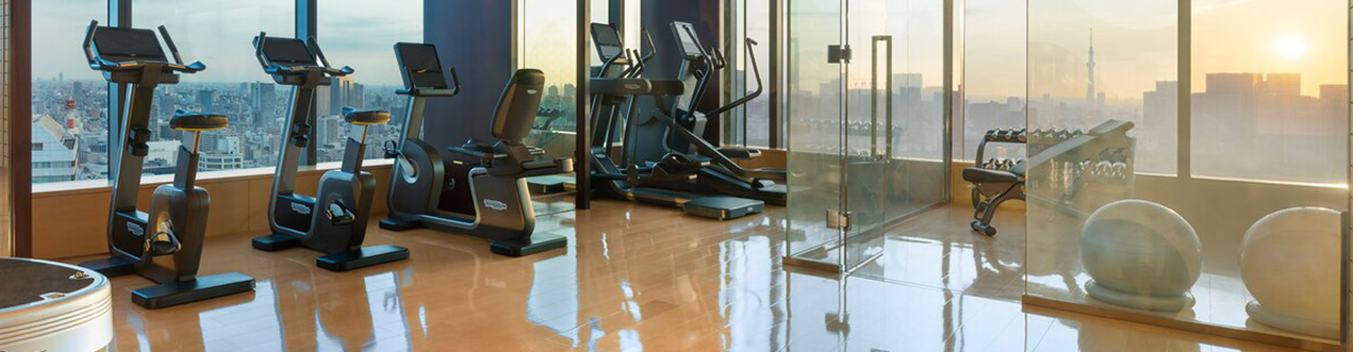The Prince Gallery Tokyo Kioicho: a state-of-art in room experience with Technogym Case